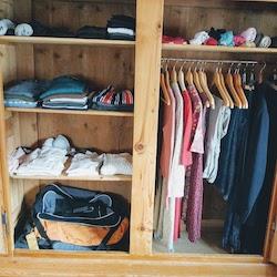 Unser Kleiderschrank