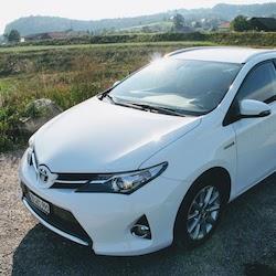 Unser Toyota, bevor wir ihn verkauften